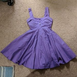 Purple Vintage Style Dress